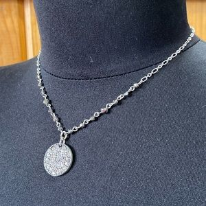 New American Eagle Necklace Crystal